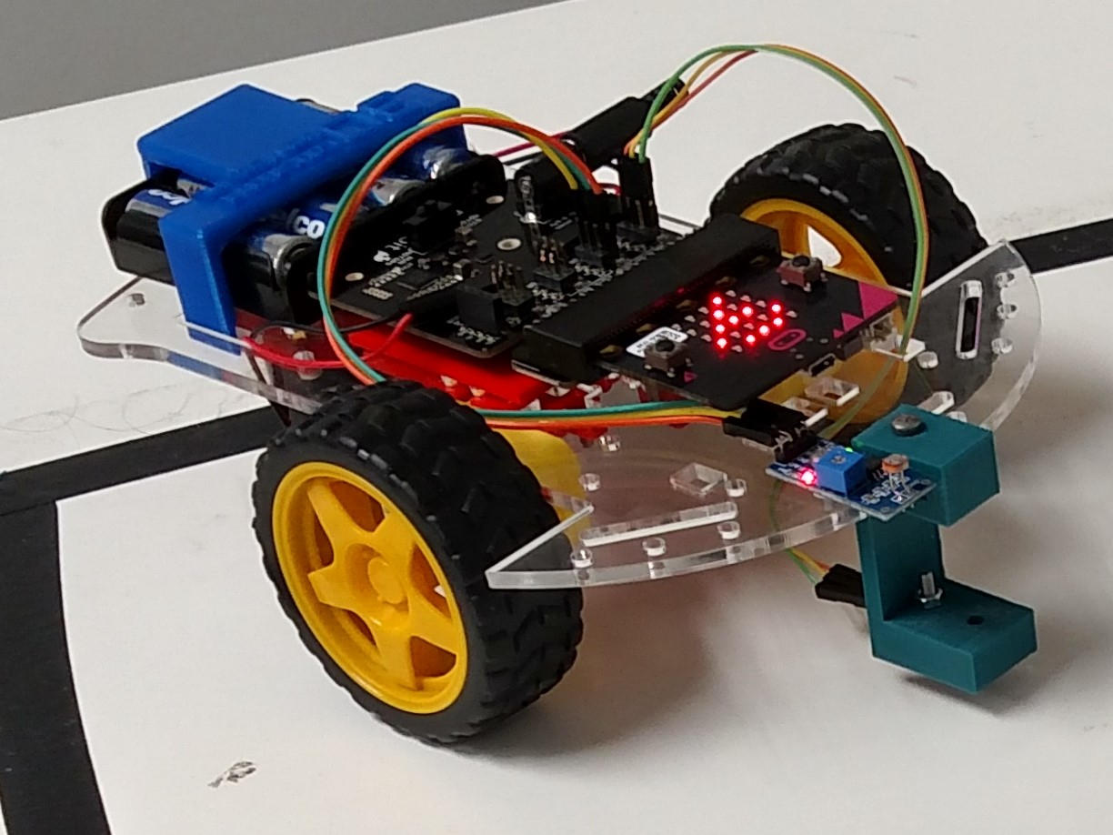 3D Printed Robot Car